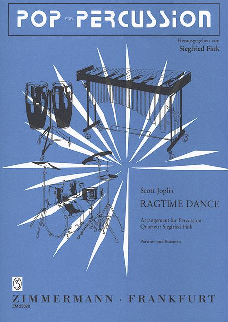 Bien éDuqué Ragtime Dance (une Heure De Fin Deux étapes) Joplin, Scott Score Et Pièces Percussion-q-afficher Le Titre D'origine Prix ModéRé